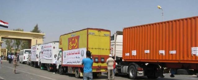 قافلة الأزهر الشريف تتوجه اليوم لقطاع غزة