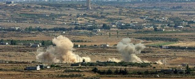 إطلاق 5 قذائف صاروخية من سوريا على هضبة الجولان