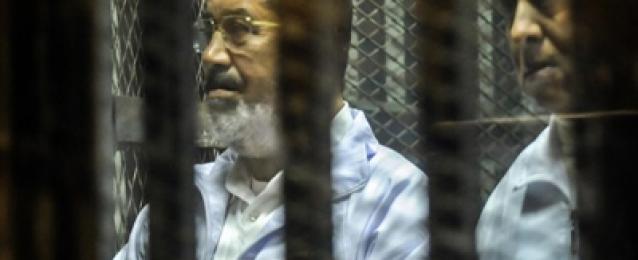 """تأجيل محاكمة مرسي و 130 آخرين في قضية """"وادي النطرون"""" إلى 15 سبتمبر"""