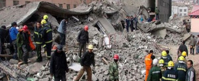 مصرع وإصابة المئات فى زلزال قوى يضرب غرب الصين