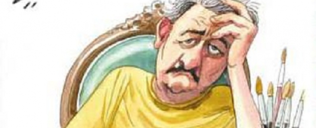 وفاة رسام الكاركاتير مصطفى حسين