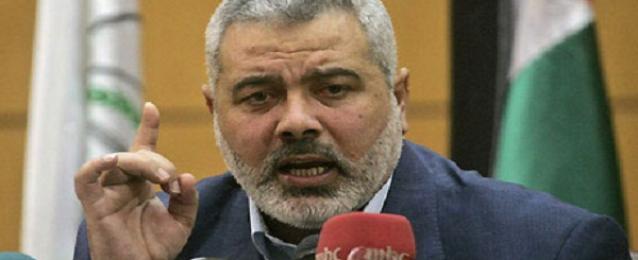 هنية: التهدئة الدائمة تتم برفع الحصار عن قطاع غزة