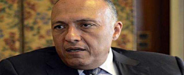 وزير الخارجية يتصل بأبو مازن وكيري لاحتواء الأزمة في غزة