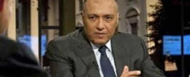 وزير الخارجية يجري اتصالا هاتفيا مع نظيره الإثيوبي تناول سد النهضة وعلاقات البلدين