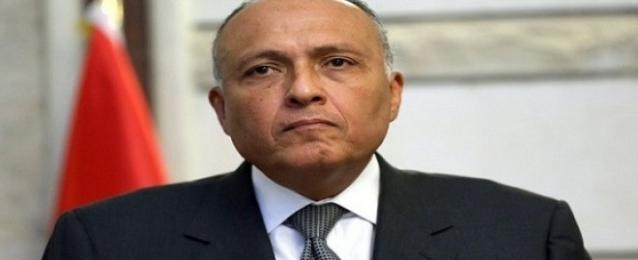 وزير الخارجية ينفى مجددا مشاركة مصر فى آى عمل عسكري داخل ليبيا