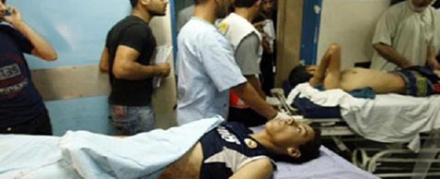 وصول 104 حالات من الجرحى الفلسطينيين عن طريق معبر رفح
