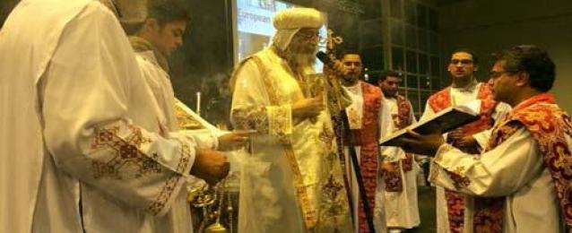 البابا تواضروس في دير سانت موريس بسويسرا : صلوا من أجل مصر ومشروع قناة السويس هديتها للعالم