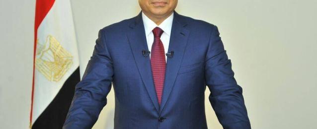 الرئيس  السيسي يوجه خطابا للأمة اليوم