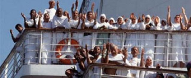 2355 حاجا يغادرون ميناء نويبع متجهين إلى الأراضى السعودية