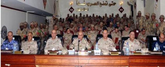 """وزير الدفاع يشهد المشروع التعبوي """"باهر 19"""" للجيش الثاني"""