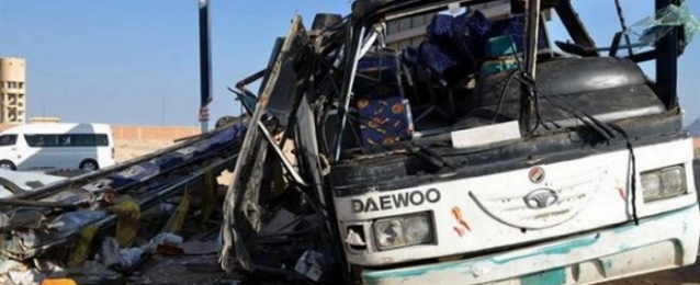 مقتل 8 وإصابة 28 في حادث تصادم بطريق الصعيد الشرقي بالمنيا