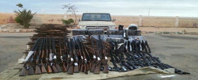 حرس الحدود يضبط 650 بندقية ويحبط محاولة 160 شخصا للتسلل
