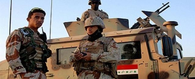طيران الجيش العراقى يقصف مسكنا لتنظيم داعش بصلاح الدين