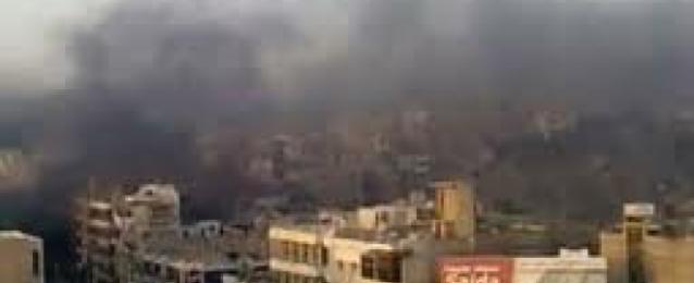 """غارات جوية على مواقع """" داعش """" بدير الزور والرقة"""