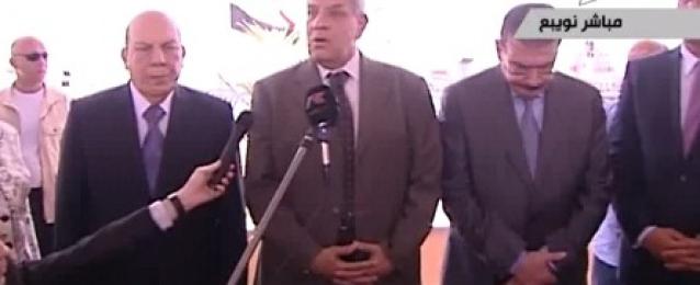 """بالفيديو : محلب يشكر المصريين الذين حققوا معجزة الـ""""٦٠ مليارًا"""".. ويؤكد: سننجح في تطهير بلدنا من الإرهاب"""