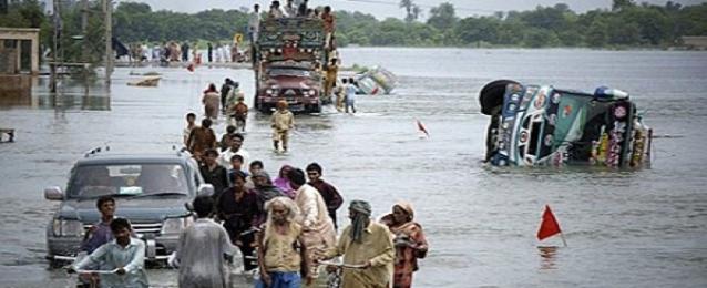 مصرع اكثر من ثلاثين شخصا بسبب الامطار الموسمية في باكستان