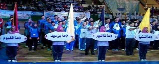 وزير التعليم العالي يشهد إنطلاق دورة الأولمبياد للجامعات بالاسكندرية