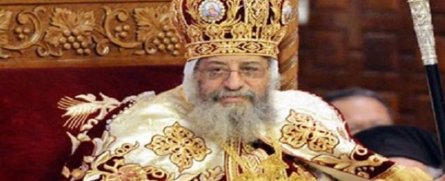 البابا تواضروس الثاني يهنئ الرئيس السيسي بذكرى انتصارات أكتوبر المجيدة