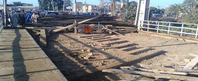 بدء الأعمال لترميم كوبرى منشأة خشبة وإضافة جناح جديد للمدرسة بأسيوط