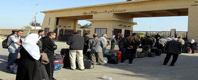 ترحيل 68 فلسطينيا إلى غزة عبر معبر رفح