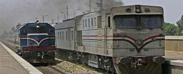 عودة انتظام حركة قطارات السكة الحديد على خط القاهرة الأسكندرية