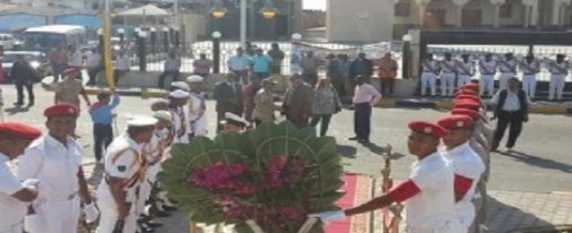 هيئة موانىء البحر الأحمر تشارك القوات المسلحة احتفالات نصر أكتوبر