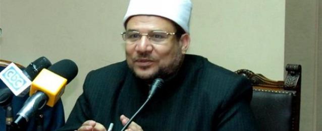 وزير الأوقاف: بناء وإحلال وتجديد وإشهار 361 مسجدا فى إطار خطة لإعمار المساجد