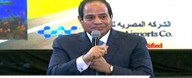 """السيسي لـ المصريين: """"اصبروا وهتحسوا بالفرق خلال عامين بإذن الله"""""""
