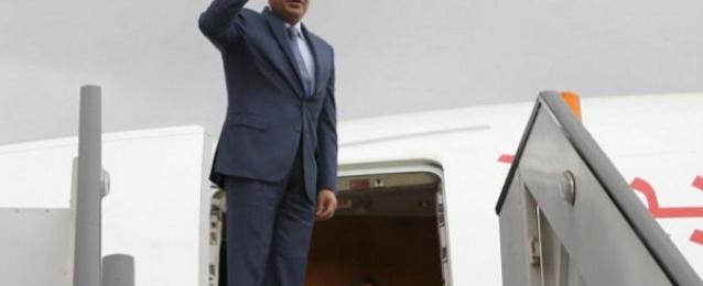 الرئيس السيسى يصل إلي أرض الوطن بعد مشاركته باحتفالات روسيا