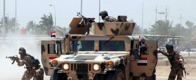 القوات العراقية تقتل 12 من مسلحي داعش في الأنبار