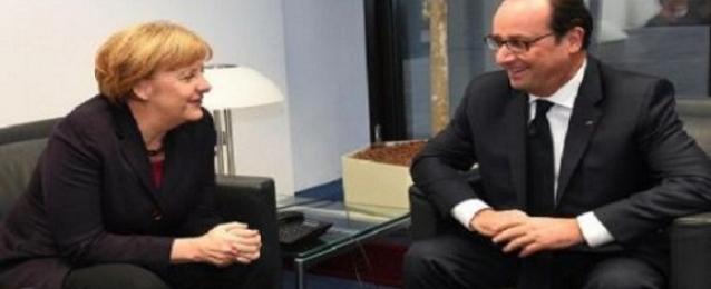 تأجيل قمة بين أولوند وميركل بسبب أحداث باريس