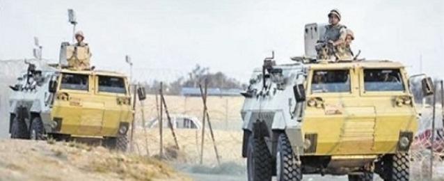 إجراءات أمنية مشددة بعد استشهاد صف ضابط ومجندين بالشيخ زويد