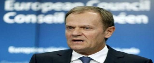 تاسك يدعو الاتحاد الأوروبي لمواصلة الضغط على روسيا بالعقوبات