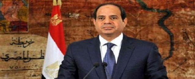 السيسى: لن يستطيع الشر أن ينال من مصر وشعبها طالما كان هناك يقظة من الجميع
