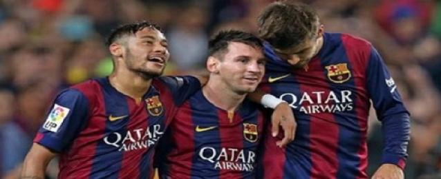 برشلونة يهزم أتليتيكو بهدف ميسي ويحرز لقب الدوري الإسباني