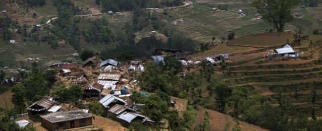 أربعة قتلى في زلزال جديد هز نيبال