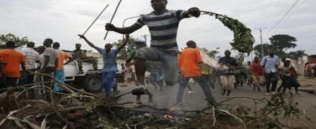احتجاجات في عاصمة بوروندي ضد الرئيس نكورونزيزا