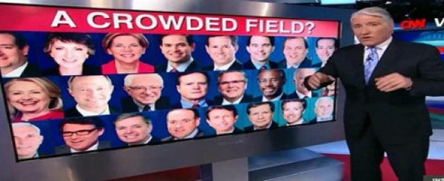 استطلاع رأي يظهر رسوب جماعي للمرشحين في انتخابات الرئاسة الامريكية القادمة