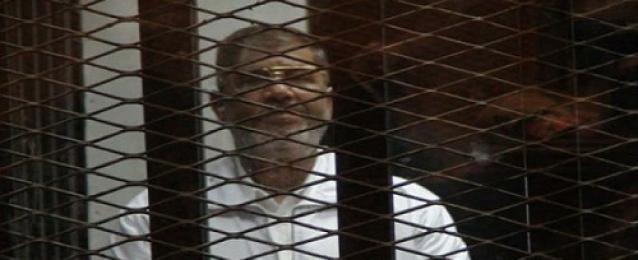 الجنايات تصدر السبت حكمها ضد مرسي في قضيتي التخابر واقتحام السجون