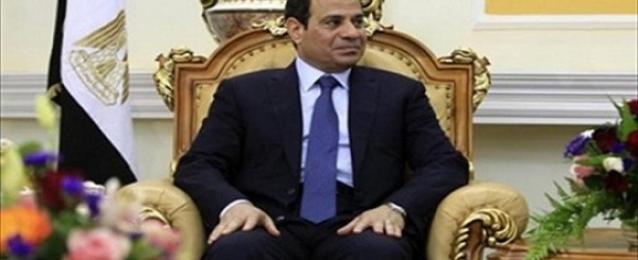 السيسي يلتقي أعضاء الإجتماع التأسيسي لمجلس الأعمال المصري الكويتي