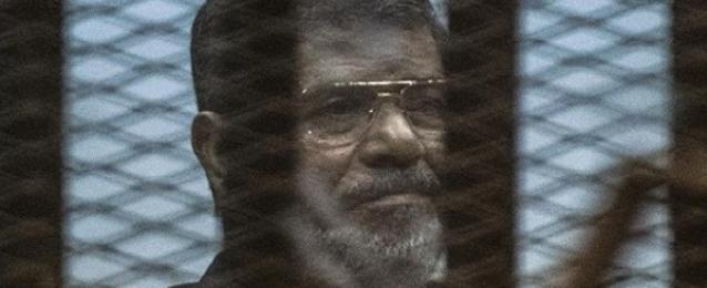 تأجيل محاكمة مرسي و 10 آخرين بقضية التخابر مع قطر 7 يونيو المقبل