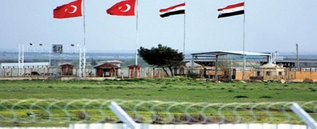 تحركات جوية مكثفة على الحدود التركية السورية