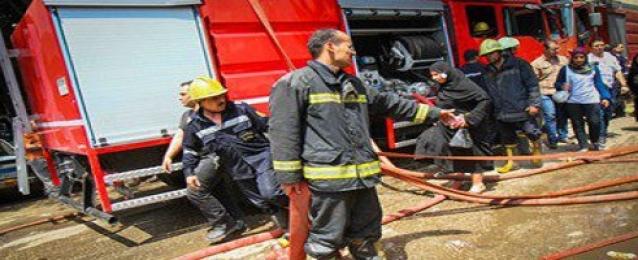 حريق فى محول كهرباء بمركز شباب الجزيرة