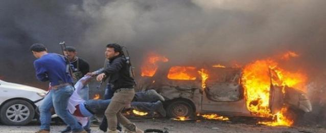 ارتفاع حصيلة القتلى في القصف الجوي من قوات النظام على حلب الى 71 شخصا