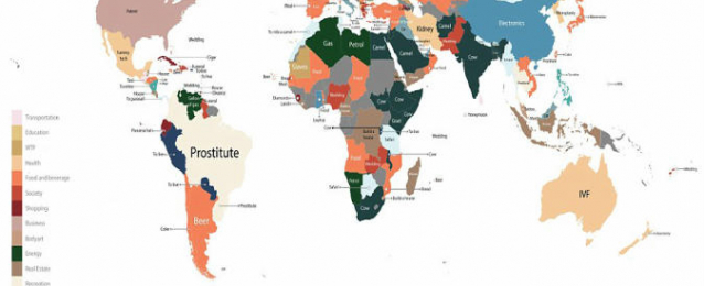 إنفوجرافيك: تكشف الأسئلة الأكثر بحثًا عن العالم: «فتيات أمريكا الجنوبية وجِمال مصر»