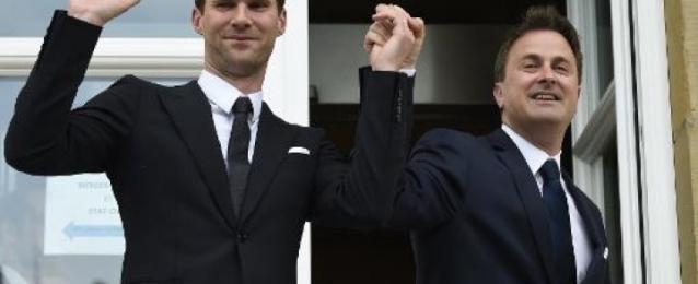 رئيس وزراء لوكسمبورغ يتزوج صديقه