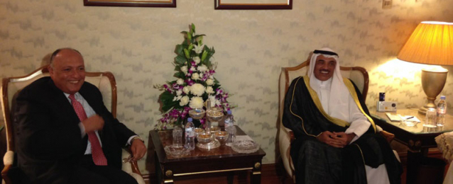 شكري يلتقي وزيري خارجية الأردن والكويت وأمين عام منظمة التعاون الإسلامي