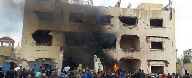 صرف إعانات لـ73 أسرة من المتضررين جراء تفجير قسم ثالث العريش