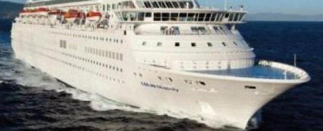 عبور أكبر سفينة ركاب سياحية على مستوى العالم المجري الملاحي لقناة السويس