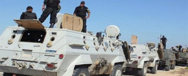 قوات الأمن تلاحق مسلحين فشلوا في استهداف ارتكاز أمني بالشيخ زويد